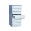 Металлическая картотека с 7-ю ящиками 1370х525х585 мм