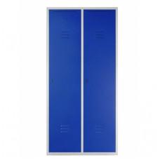 Металлический двухсекционный шкаф 1800х800х500 мм