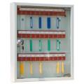 Металлическая ключница со стеклянной дверью на 30 ключей