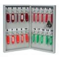 Металлическая ключница  20 ключей