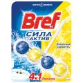 """Освежитель WC твердый BREF Сила-Актив """"Лимонная Свежесть"""", 50г"""