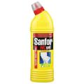 """Средство для уборки туалета SANFOR WC gel """"Лимонная Свежесть"""", 750г (упаковка 3шт)"""