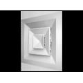 Потолочная решетка Shuft 4 CA 600*600