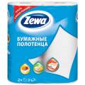 Полотенце бумажное ZEWA 2-х слойное, спайка 2шт.х15м