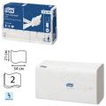 Полотенца бумажные 136шт, TORK (H2) Advanced, КОМПЛЕКТ 21шт, 21х34, белые