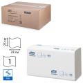Полотенца бумажные 250шт, TORK (H3) Universal, КОМПЛЕКТ 20шт, 23х23, серые