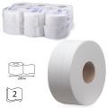 Бумага туалетная 200м, KIMBERLY-CLARK Scott, КОМПЛЕКТ 12шт, Performance Jumbo, белая