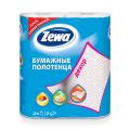Полотенце бумажное ZEWA Decor, 2-х слойное, спайка 2шт.х15м