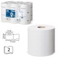 Бумага туалетная 112м, TORK (T9) SmartOne, КОМПЛЕКТ 12шт,Advanced, белая