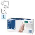 Полотенца бумажные 120шт, TORK (Система H3) Advanced, Singlefold, 24х27,5, белые