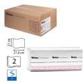 Полотенца бумажные 200шт, VEIRO (F1), КОМПЛЕКТ 15шт, Premium, 21х21,6, белые