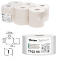 Бумага туалетная 200м, VEIRO (Q2), КОМПЛЕКТ 12шт, Basic, белая