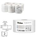 Бумага туалетная 200м, VEIRO (Q2), КОМПЛЕКТ 12шт, Comfort, белая