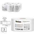 Бумага туалетная 170м, VEIRO (Q2), КОМПЛЕКТ 12шт, Comfort, белая