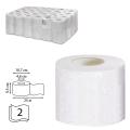 Бумага туалетная 25м, VEIRO Professional Comfort, КОМПЛЕКТ 48шт