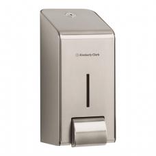 Диспенсер для жидкого мыла KIMBERLY-CLARK, нержавеющая сталь, 1 л