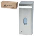 Диспенсер для жидкого мыла сенсорный наливной KSITEX, нержавеющая сталь, 1л