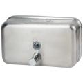 Диспенсер для жидкого мыла наливной KSITEX, нержавещающая сталь, матовый, 1,2 л