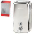 Диспенсер для жидкого мыла наливной KSITEX, нержавеющая сталь, зеркальный, 0,8 л
