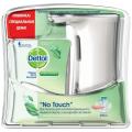 """Диспенсер для жидкого мыла сенсорный DETTOL +картридж с мылом """"Зеленый чай и имбирь"""", 250 мл"""