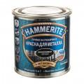 Краска молотковая Hammerite цвет чёрный 0.25 л