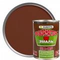 Эмаль ПФ-115 Выбор Мастера цвет коричневый 0.9 кг