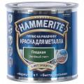 Краска гладкая Hammerite цвет зелёный лист 0.25 л