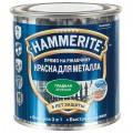 Краска гладкая Hammerite цвет зелёный 0.25 л