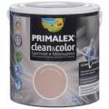 Краска PRIMALEX Clean&Color моющаяся 2,5 кг.