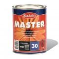 Краска алкидная для металла, бетона и дерева Dulux Master полуматовая Колер RAL Classic 7022, 2,5 литра
