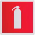 """Знак пожарной безопасности """"Огнетушитель"""", 200x200мм"""