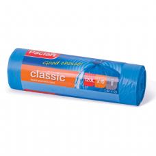 "Мешки для мусора 120л PACLAN ""Classic"", КОМПЛЕКТ 10шт, рулон, синие (упаковка 35шт)"