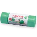 Мешки для мусора 120л ЛАЙМА БИО, КОМПЛЕКТ 10шт, рулон, зеленые (упаковка 5шт)