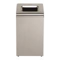 Контейнер для мусора 50л KIMBERLY-CLARK, без крышки, нержавеющая сталь