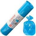 Мешки для мусора 120л ЛАЙМА, КОМПЛЕКТ 50шт, рулон, синие (упаковка 6шт)