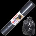 Мешки для мусора 160л ЛАЙМА, КОМПЛЕКТ 10шт, рулон, черные (упаковка 9шт)