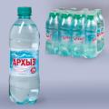 Вода газированная минеральная АРХЫЗ, 0,5л (упаковка 12шт)
