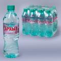 Вода негазированная минеральная АРХЫЗ, 0,5л (упаковка 12шт)