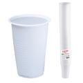 Одноразовые стаканы ЛАЙМА Бюджет, КОМПЛЕКТ 100шт., 0,2л белые (упаковка 30 комплектов)