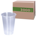 Одноразовые стаканы, КОМПЛЕКТ 3000шт.(30уп.по100), 0,2л прозрачные