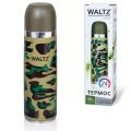 Термос WALTZ с узким горлом, 0,5 л, хаки