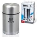 Термос WALTZ универсальный с широким горлом, 0,8 л