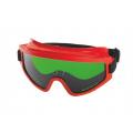 Защитные закрытые очки с непрямой вентиляцией РОСОМЗ ЗН11 SUPER PANORAMA 3 CA 24128