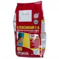 Затирка цементная Litochrom 1-6 С.120 2 кг цвет голубой