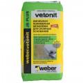 Шпаклёвка Weber Vetonit JS Plus, 20 кг