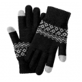 Перчатки для сенсорных экранов Xiaomi FO Touch Screen Warm Velvet Gloves Black