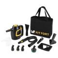 Пароочиститель Kitfort КТ-930 черный
