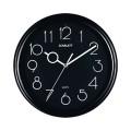 Часы настенные SCARLETT SC-09B круг, черные