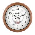 Часы настенные SCARLETT SC-25Q круг, белые с рисунком