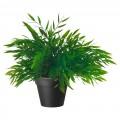 Искусственное растение в горшке, комнатный бамбук, 10см